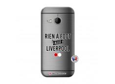 Coque HTC ONE Mini M8 Rien A Foot Allez Liverpool