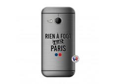 Coque HTC ONE Mini M8 Rien A Foot Allez Paris