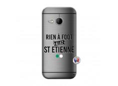 Coque HTC ONE Mini M8 Rien A Foot Allez St Etienne