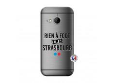 Coque HTC ONE Mini M8 Rien A Foot Allez Strasbourg