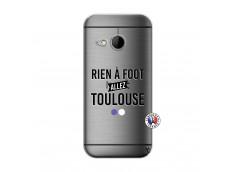 Coque HTC ONE Mini M8 Rien A Foot Allez Toulouse