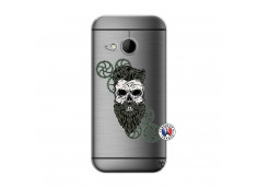 Coque HTC ONE Mini M8 Skull Hipster