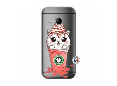 Coque HTC ONE Mini M8 Catpucino Ice Cream