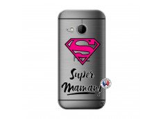 Coque HTC ONE Mini M8 Super Maman