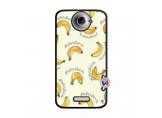 Coque HTC ONE X/XL Sorbet Banana Split Noir