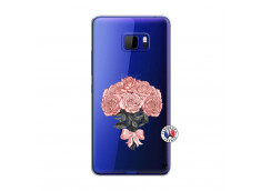 Coque HTC U Play Bouquet de Roses