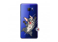 Coque HTC U Play Dog Impact