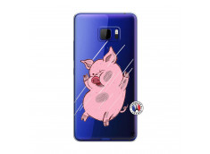 Coque HTC U Play Pig Impact