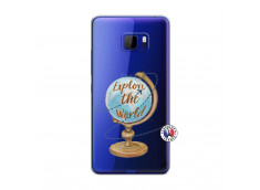Coque HTC U Play Globe Trotter