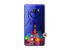 Coque HTC U Play I Love Moscow