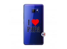 Coque HTC U Play I Love Papa