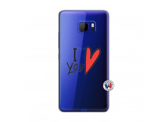 Coque HTC U Play I Love You