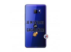 Coque HTC U Play Je M En Bas Les Cacahuetes