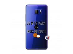 Coque HTC U Play Je m'en bats Les Noix De Coco