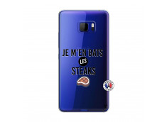 Coque HTC U Play Je M En Bas Les Steaks