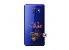 Coque HTC U Play Je Peux Pas J Ai Basket