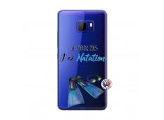 Coque HTC U Play Je Peux Pas J Ai Natation
