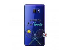Coque HTC U Play Je Peux Pas J Ai Tennis