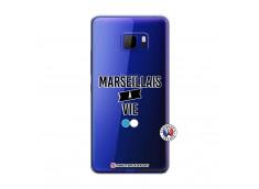 Coque HTC U Play Marseillais à Vie