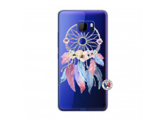 Coque HTC U Play Multicolor Watercolor Floral Dreamcatcher