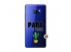 Coque HTC U Play Papa Tu Piques