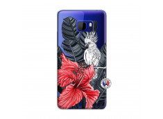 Coque HTC U Play Papagal