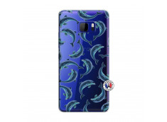 Coque HTC U Play Dolphins