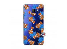 Coque HTC U Play Poisson Clown
