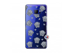 Coque HTC U Play Petits Elephants