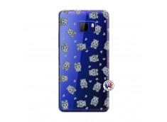Coque HTC U Play Petits Hippos