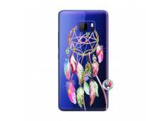 Coque HTC U Play Pink Painted Dreamcatcher