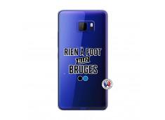 Coque HTC U Play Rien A Foot Allez Bruges
