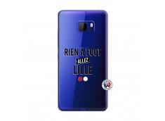 Coque HTC U Play Rien A Foot Allez Lille