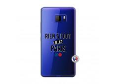 Coque HTC U Play Rien A Foot Allez Paris