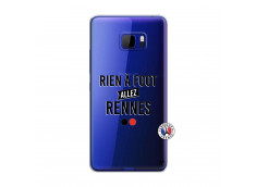 Coque HTC U Play Rien A Foot Allez Rennes