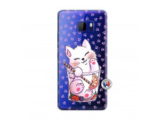 Coque HTC U Play Smoothie Cat