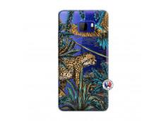 Coque HTC U Play Leopard Jungle