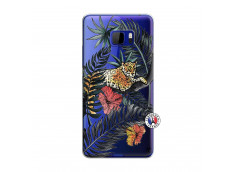 Coque HTC U Play Leopard Tree