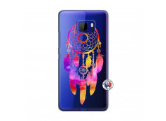 Coque HTC U Ultra Dreamcatcher Rainbow Feathers