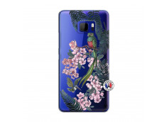 Coque HTC U Ultra Flower Birds