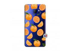 Coque HTC U Ultra Orange Gina