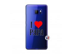 Coque HTC U Ultra I Love Papa