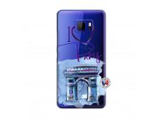 Coque HTC U Ultra I Love Paris, i love Arc de Triomphe