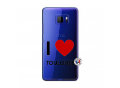 Coque HTC U Ultra I Love Toulouse