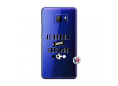 Coque HTC U Ultra Je Dribble Comme Cristiano