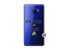 Coque HTC U Ultra Je M En Bas Les Olives