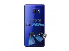 Coque HTC U Ultra Je Peux Pas J Ai Natation