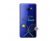Coque HTC U Ultra Je Peux Pas J Ai Tennis