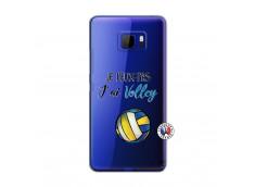 Coque HTC U Ultra Je Peux Pas J Ai Volley
