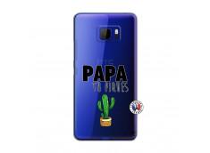 Coque HTC U Ultra Papa Tu Piques
